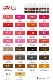 Newest Sales Promotion Goochie Herbal Healthy Permanent Makeup Color Ink Buy Permanent Makeup Color Ink Permanent Makeup Color Ink Permanent