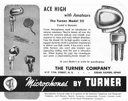 preservation sound information and ideas about audio history the turner model 20x microphone the