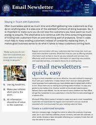 Microsoft Office Word Newsletter Templates 004 Microsoft Office Word Newsletter Templates Image