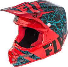 2018 Fly Racing F2 Carbon Fracture Helmet