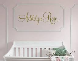 nursery wall decals personalized name