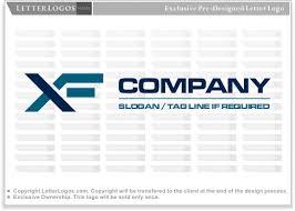 letterlogos letter xf logo x