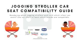 jogging stroller car seat compatibility