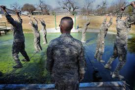 air force basic training day by day