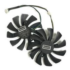 <b>2 Pcs</b>/<b>Lot</b> DATALAND RX580 GPU <b>Graphics Card Fan</b> For Radeon ...
