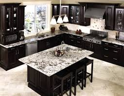 Granite Top Kitchen Island Black Kitchen Island With Granite Top Gorgeous White Countertop