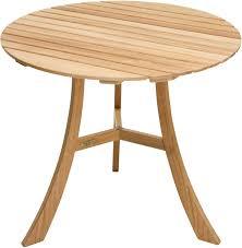Divero Gartentisch Balkontisch Tisch Esstisch Holz Teak Klappbar ø