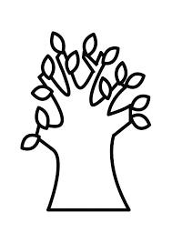 Kleurplaat Bomen En Planten