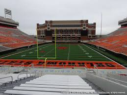 Boone Pickens Stadium View From Middle Level 215 Vivid Seats