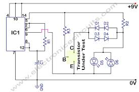 in circuit transistor tester schematic wiring diagram cloud in circuit transistor tester schematic