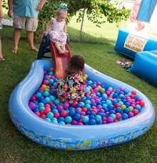fun ideas for a birthday party at home. ball pit game for 1st birthday party. see more first boy and party ideas fun a at home r