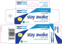 equaline stay awake supervalu inc caffeine 200mg tablet full full size image