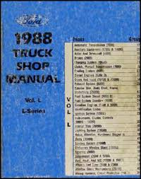 1988 ford l series wiring diagram l8000 l9000 lt8000 lt9000 ln7000 1988 ford l series truck repair shop manual ln t ll ls lt ltl lts 7000 9000 199 00