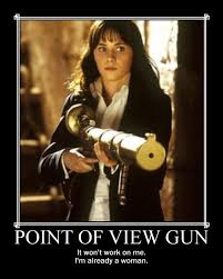 Image result for point of view gun