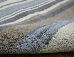 stripes luxury wool runner blue grey cream rug gray wool rug runner