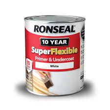 ronseal weatherproof 10 year exterior wood paint white. super flexible primer_undercoat 750 white 2016 ronseal weatherproof 10 year exterior wood paint white i