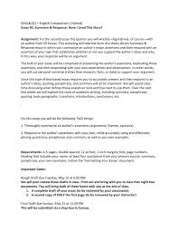 Analytical Response Essay Engl 101 English Composition I Hybrid 50 Essays