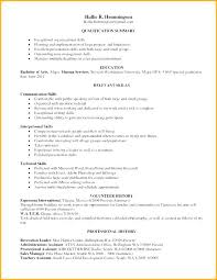 Example Skills For Resume Beauteous Resume Examples For Skills And Abilities Administrativelawjudge