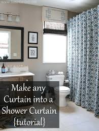 gallery pictures for if you cant find a shower curtain