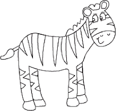 Small Picture Zebra Coloring Sheets Coloring Pages
