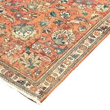 orange persian rug burnt oriental cleaning county ca style