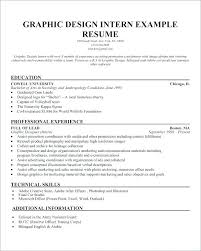 Resume Objective Examples For Internships Resumes For Internships