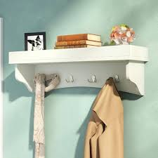 Wall Mounted Coat Rack With Shelf Walmart wall hanging coat rack uslugestampeme 38