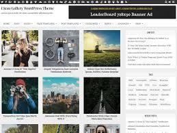 Wordpress Photo Gallery Theme Clean Gallery Wordpress Theme Wordpress Org