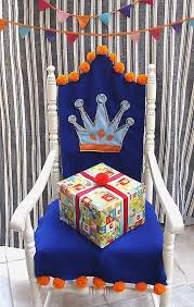 a birthday chair fit for a king make memories with this homemade throne