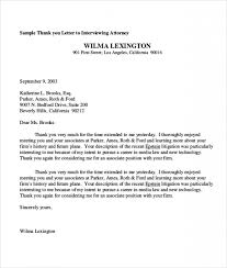 Sample Thank You Letter To Attorney Letters Font