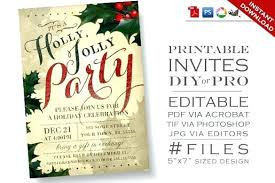 Template Free Christmas Party Invitation Wording Samples Invite