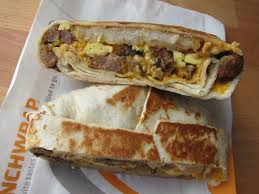taco bell breakfast crunchwrap. Delighful Bell Review Taco Bell  Steak AM Crunchwrap For Breakfast E