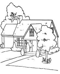 Small Picture Lovely Houses Coloring Page Lovely Houses Coloring Page Color Luna
