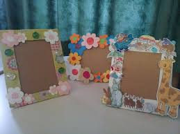 diy paper frame kids art my school crafts within photo frames 685e1739c0529fccdacc5bb7aa803996