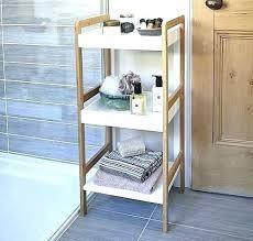bathroom standing shelves home design freestanding bathroom shelves fabulous lovely corner storage