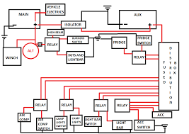 wiring diagram for dual battery system 4x4 dual battery setup at Dual Battery Wiring Diagram