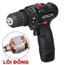 Máy Khoan Bắt Vít Hitachi 12V - Máy Bắt Vít Dùng Pin