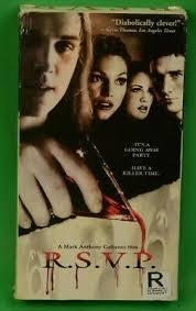 R.S.V.P. VHS Slasher Horror Mark Anthony Galluzzo 658149816336   eBay