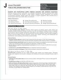 Public Relations Resume Sample Resume For Public Relations Public Relations Resume Examples