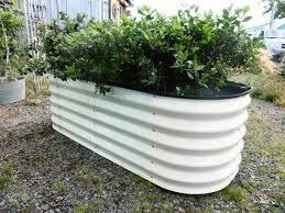 outdoor herb garden box diy steel
