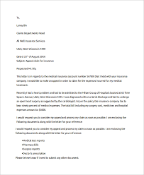 Brilliant Ideas Of Sample Claims Letter 6 Documents In Pdf Word