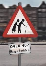 Schöne Postkarte Geburtstag Over 40 Happy Birthday Postkarten