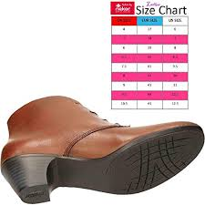 Rieker Size Chart Us Rieker Womens 70510 22 Leather Boots Lace Heeled Amazon Co