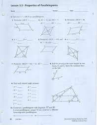 6.1 properties and attributes of polygons. Unit 7 Polygons Quadrilaterals Page 1 Line 17qq Com