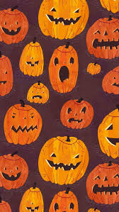 halloween backgrounds for iphone. Interesting Halloween Halloween Pumpkins Pattern IPhone 5s Wallpaper Throughout Backgrounds For Iphone H