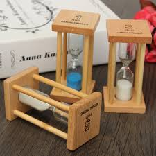 Gift Kitchen 1 3 5min Wooden Sand Sandglass Hourglass Timer Clock Unique Gift