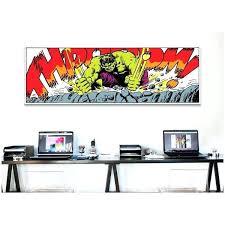 marvel comic book hulk art panel b canvas print wall on free today
