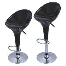 Modern Style Bar Stools Set Of 2 Bombo Style Bar Stools Modern Swivel Dinning Counter