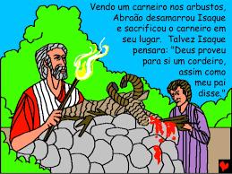 Resultado de imagem para carneiro de Abraão