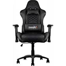 office chair with speakers. thunderx3 tgc12 series gaming chair black office with speakers